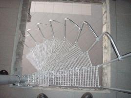 Schody spiralne 11